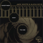 Jack White & Alicia Keys - Another Way To Die [7''] (Gold Vinyl) (theme to James Bond movie 'Quantum Of Solace')